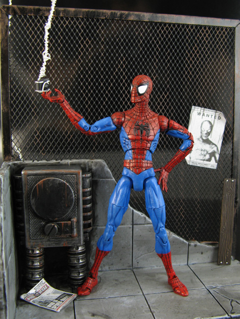 Spiderman with magnetic diorama - Toy Discussion at Toyark com