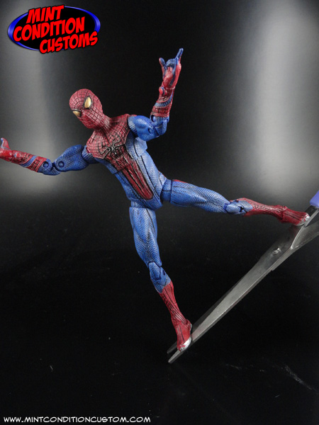 Marvel Universe Amazing Spiderman Ultra-poseable Andrew Garfield 3.75 SCALE