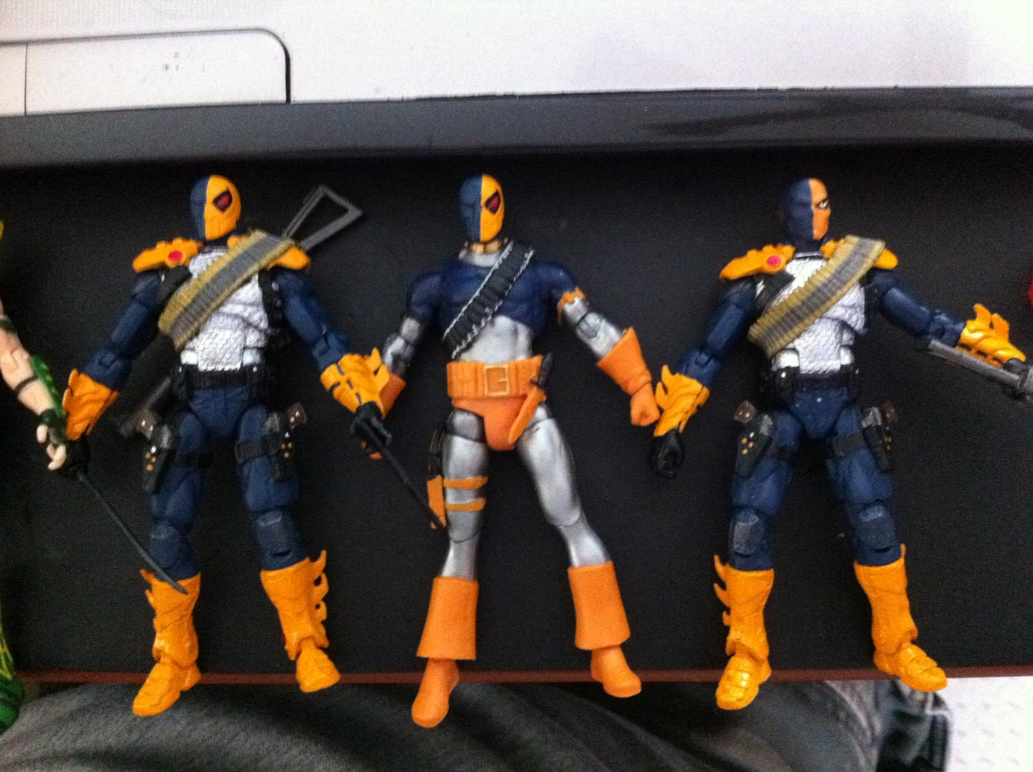 Toys For Injustice : Injustice deathstroke action figure gallery