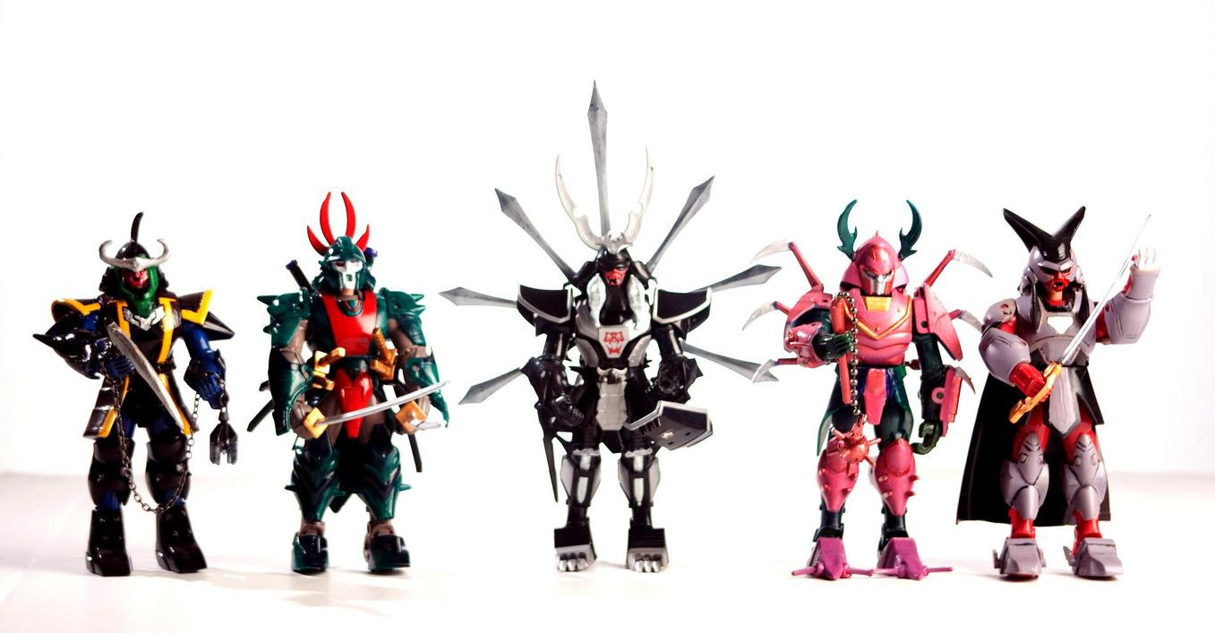 Ronin warriors dark warlords custom set toy discussion - Ronin warriors warlords ...