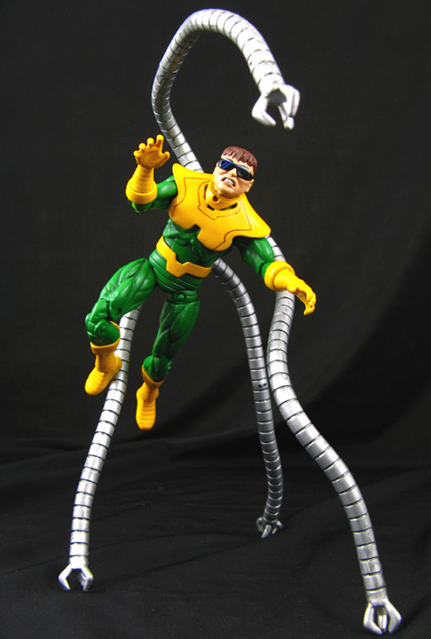 Custom Marvel Universe Animated Doctor Octopus - Toy ...