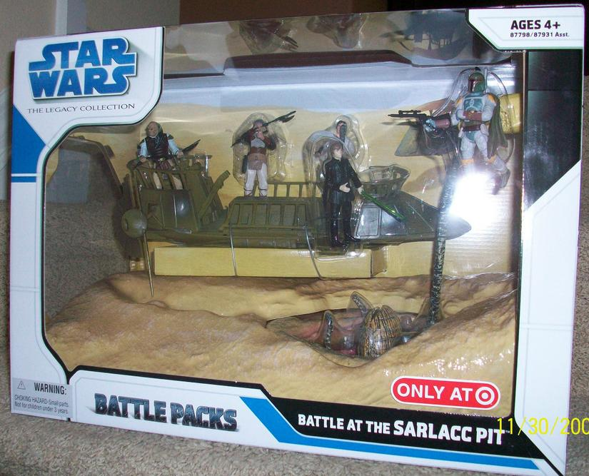 Battle at the Sarlacc Pit (Target Excl) - Toy Discussion at