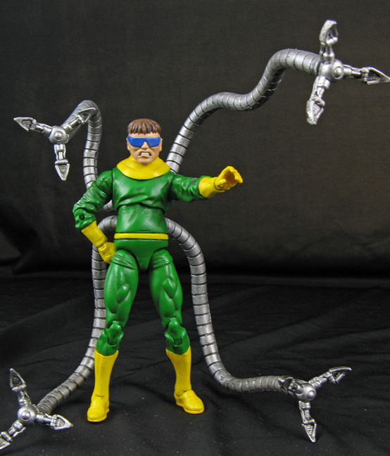 Custom Marvel Universe Doctor Octopus (sinister six) - Toy ...