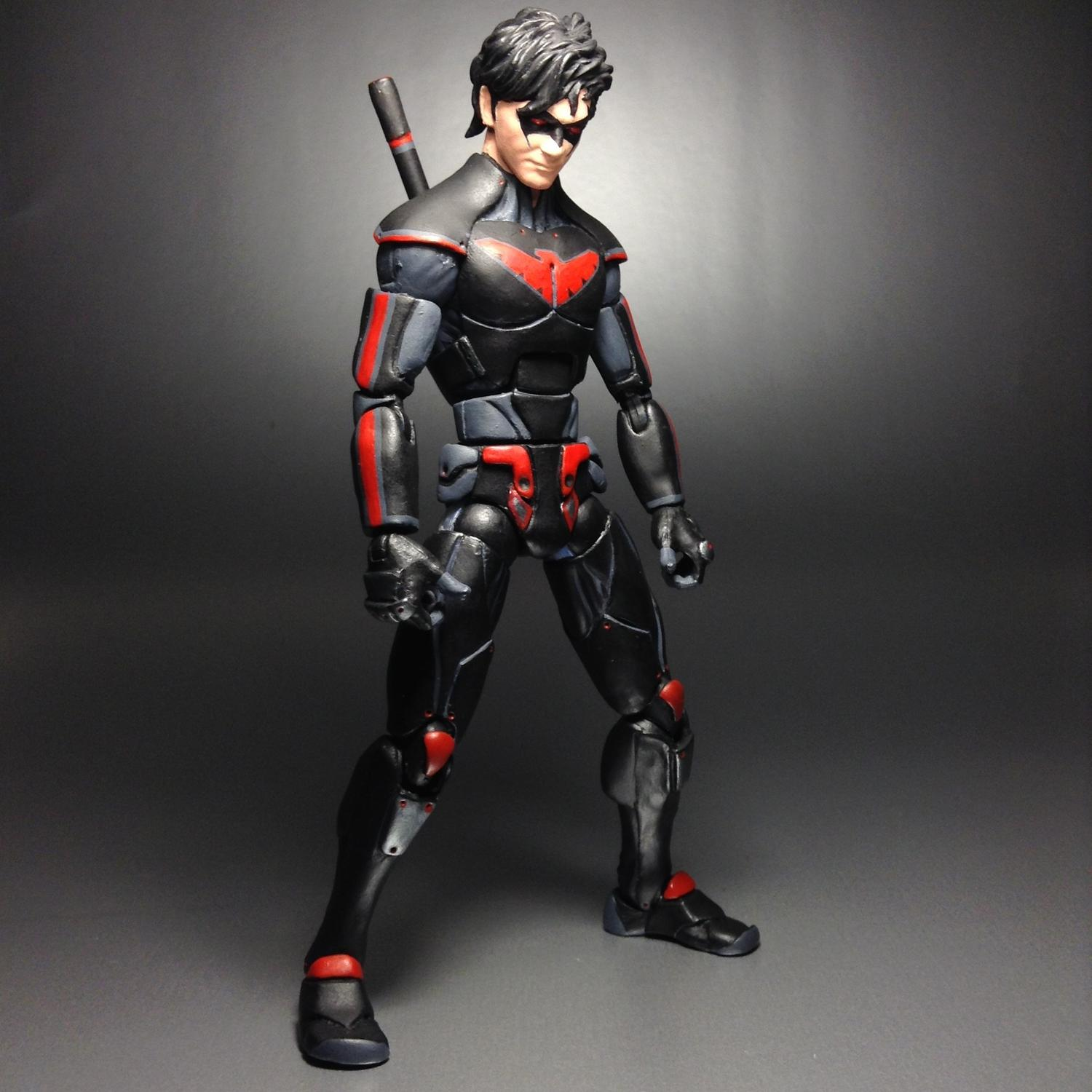 new 52 nightwing concept style design toy discussion at