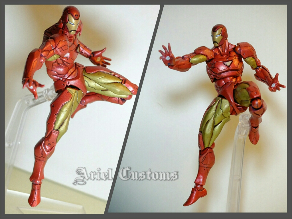 Custom Extremis Armor Iron Man 2.0 (4 inch) - Toy Discussion at ...