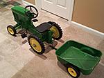 Help in finding  prices for a Radio Flyer Wagon and John Deere pedal tractor-20151103_192842.jpg