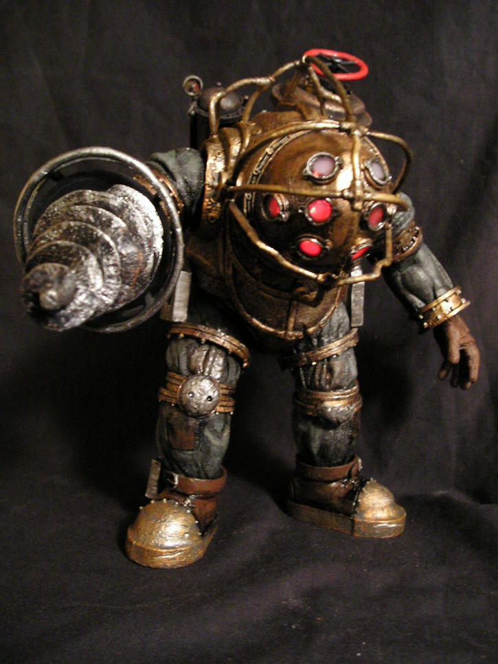 Bioshock 2 big daddy toy discussion at for Big daddy s antiques