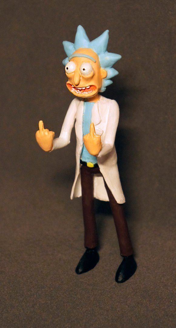 Figure Rick Sanchez from Rick and Morty - Toy Discussion at Toyark.com