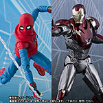 SH Figuarts Spider-Man (Homemade Suit Ver.) + Iron Man Mark 47-1.jpg