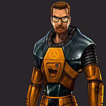 NECA Gordon Freeman and Chell Reissues-art-gordon-greybg.jpg
