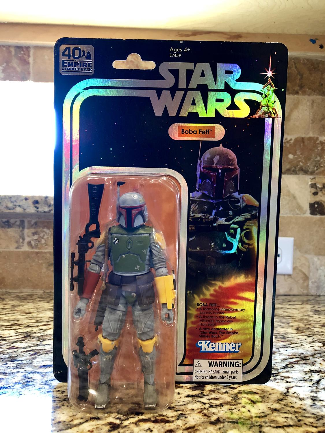 "SDCC 2019 exclusive Hasbro Star Wars The Black Series BOBA FETT 6/"" Figure InHand"