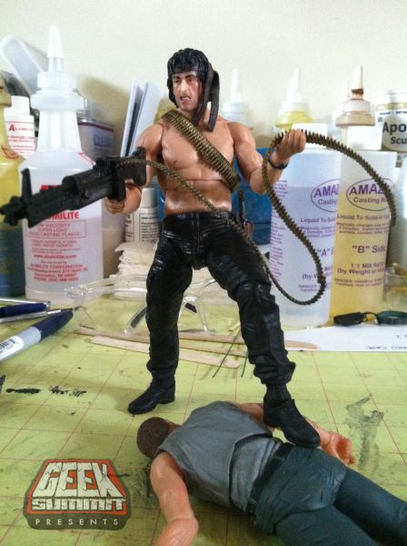 NECA- Carded First Blood Part II Rambo | The Fwoosh
