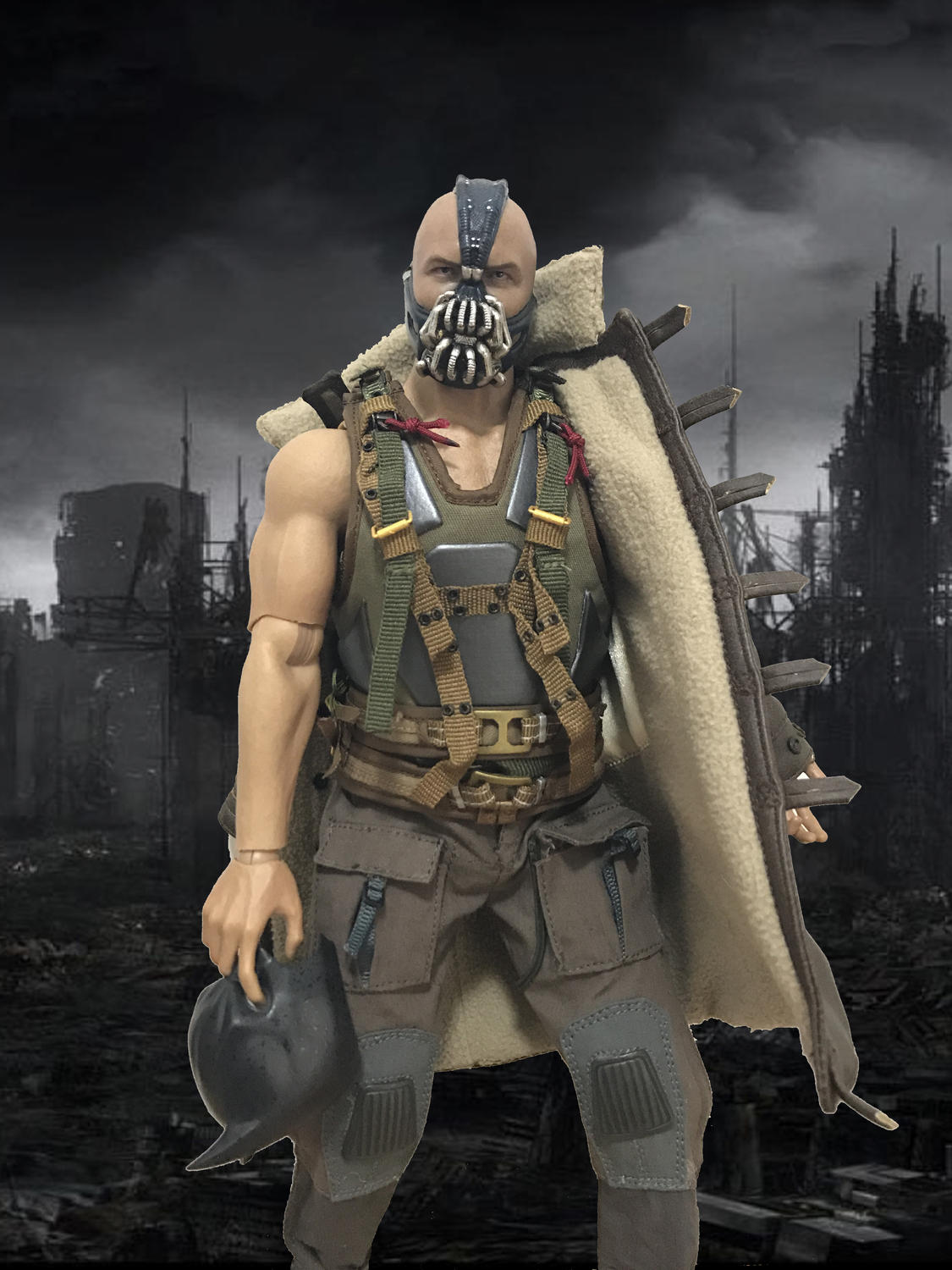 Bane The Dark Knight 1 6 Custom Action Figure Set Toy Discussion Circuit Breaker By Bad Moon At Toyarkcom 11