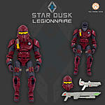 Star Dusk - 6 inch Action Figure line for army-building-legionnaire-kickstarter-image.jpg